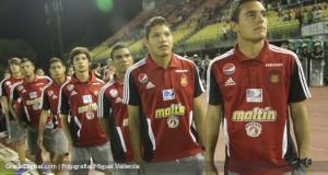 +VIDEO/FOTOS | Los integrantes «Rojos» de la «Vinotinto» Sub17, reconocidos por el Caracas FC