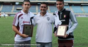 Real Esppor homenajeó a sus «Vinotintos» Sub-17