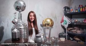 +VIDEO | El arte, amor y pasión por el trofeo de la Copa Libertadores