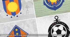 Los escudos que descartó utilizar el Deportivo La Guaira ¿Lo hubieses usado?