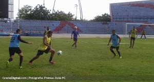 La primera semana de pretemporada fue positiva para el Zulia FC