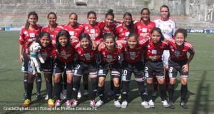 Estudiantes de Guárico y Caracas FC definen el título de la Liga de Fútbol Femenino