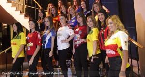 FOTOS | En presentación del torneo, modelos posaron nuevos uniformes de la temporada