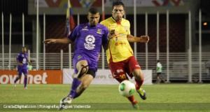 +FOTOS | Marcos Aguirre puso el gol de la clasificación para el Aragua