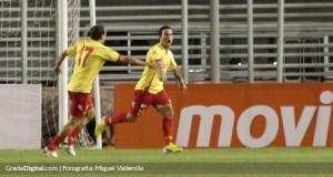 VIDEO | El gol de Marcos Aguirre para la clasificación del Aragua FC