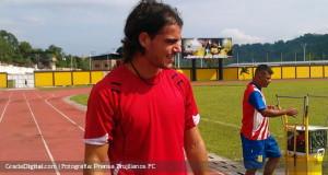 Sergio Álvarez: «Voy a dar lo mejor de mí para poder conseguir las cosas»