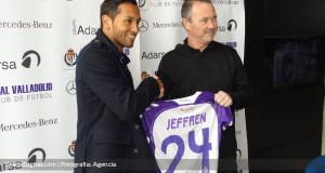+VIDEO/FOTOS | Jeffrén fue presentado en Real Valladolid