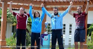 FOTOS | Kenneth Zseremeta, entre los mejores cuatro entrenadores del Mundial S-17
