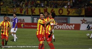 Aragua pegó primero ante el Atlético Venezuela