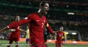 """Cristiano: """"No me pongo presión. El Mundial es en Brasil, como un país hermano"""""""