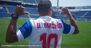 +FOTOS | Darwin Machís fue presentado como jugador del Hércules