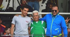 Juan Arango estuvo en el Misael Delgado