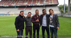 +FOTOS | Juan Falcón firmó su contrato en Francia