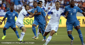 Honduras cayó goleado ante Israel