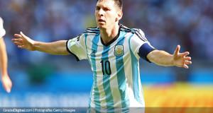 Messi apareció en el justo momento para salvar a Argentina
