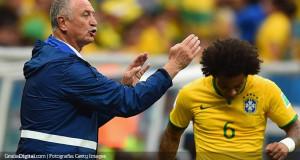 Scolari: «Necesitamos mejorar un poco más si queremos superar a Chile»
