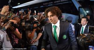 México llegó a Brasil con la afición a full
