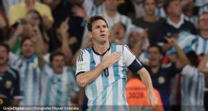 Messi quiere volver a golear ante arquero conocido ante Courtois