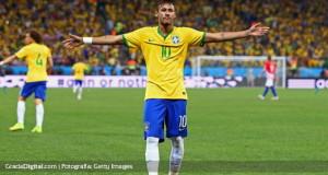 Neymar conduce a Brasil a una victoria frente a Croacia
