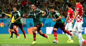 México alcanza los octavos con buen fútbol