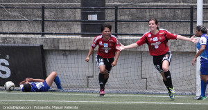 Caracas FC femenino tomó ventaja en la Gran Final del Apertura