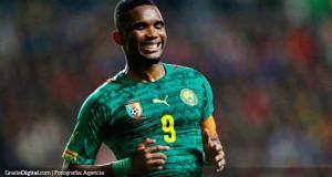 Samuel Eto'o no descarta disputar su quinto mundial en Rusia 2018