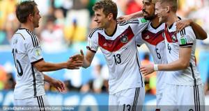 Müller y los suyos bailaron a Portugal