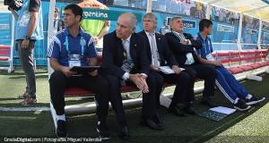 Sabella hace variantes en la defensa de Argentina