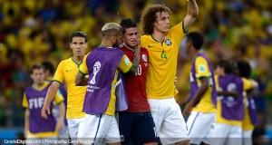 James Rodríguez: «Lloro porque dejamos todo adentro»
