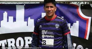 Víctor Rivero custodiará el arco de  Metropolitanos FC