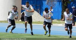 +FOTOS | La Vinotinto ya entrena en Barinas