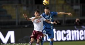 Empoli y Torino empatan en duelo vinotinto en la Serie A de Italia