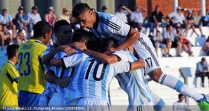#SudamericanoSub20 | Argentina goleó a Ecuador