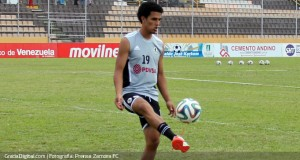 Edwin Peraza sumó sus primeros minutos con el Zamora