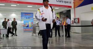 +VIDEO/FOTOS | Así llegó la Selección Vinotinto a Honduras