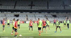 Mineros ajustó los últimos detalles para enfrentar a Cruzeiro