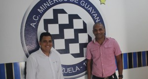 Carlos García y Nehomar Matías ya se presentaron con Mineros
