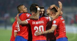 FOTOS | Los mejores momentos del duelo entre Chile y Perú