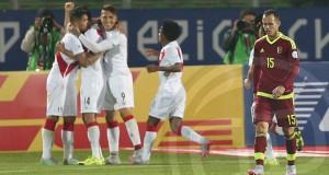 +VIDEO | Venezuela dejó escapar tres puntos decisivos ante Perú