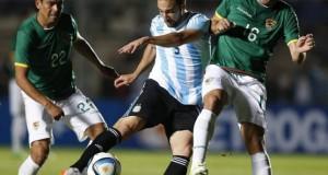 Argentina golea a Bolivia en amistoso previo a la Copa América