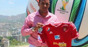 Armando Maita es el nuevo artillero rojo