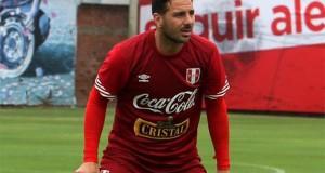 Claudio Pizarro: «Esperamos tranquilos a Brasil»