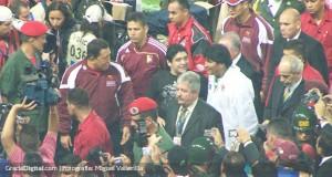 Evo Morales inaugura estadio bautizado como «Comandante Hugo Chávez»