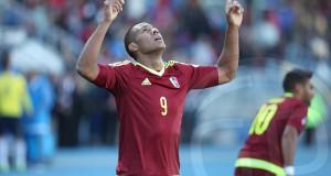 Salomón Rondón: «Así es el fútbol, hay que pensar rápido»