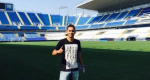 +FOTOS | Ayrton Páez se une a las filas del Málaga