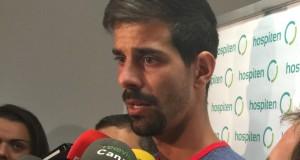 Dani Hernández está con ganas e ilusión por empezar la nueva temporada