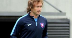 Diego Lugano ya se entrena con Cerro Porteño