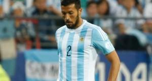 Garay se entrena aparte a días de la final ante Chile