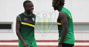 +FOTOS | Jhon Murillo se adapta al CD Tondela