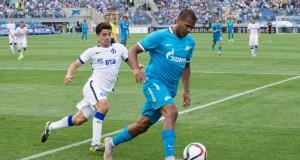 Zenit derrota al Dinamo Moscú en el inicio de la Premier League rusa